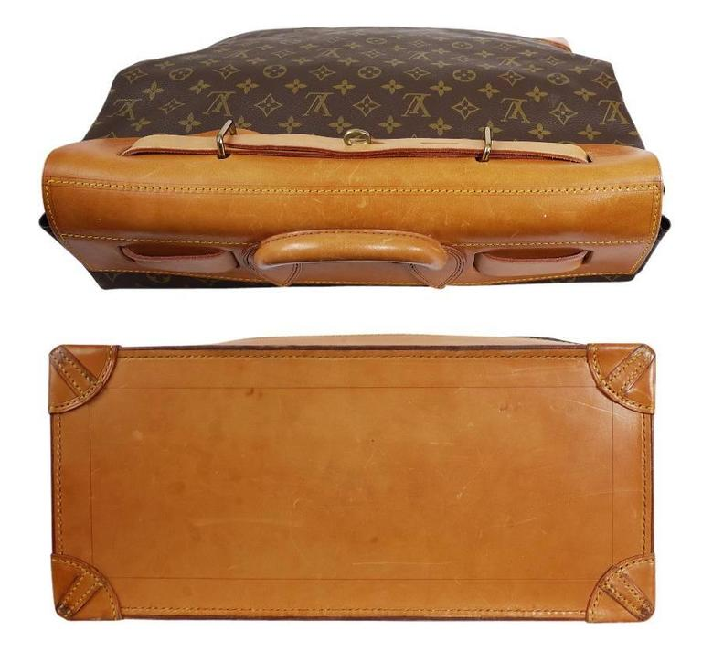 Louis Vuitton Monogram Steamer 45 Travel Bag 4