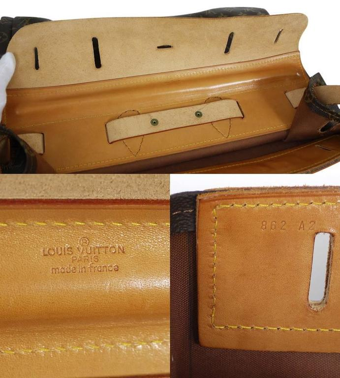 Louis Vuitton Monogram Steamer 45 Travel Bag 7
