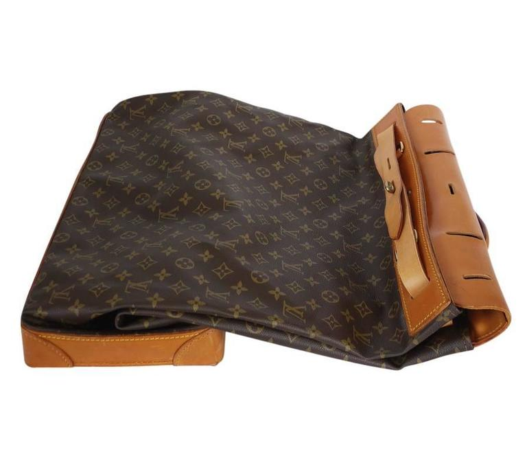 Louis Vuitton Monogram Steamer 45 Travel Bag 9
