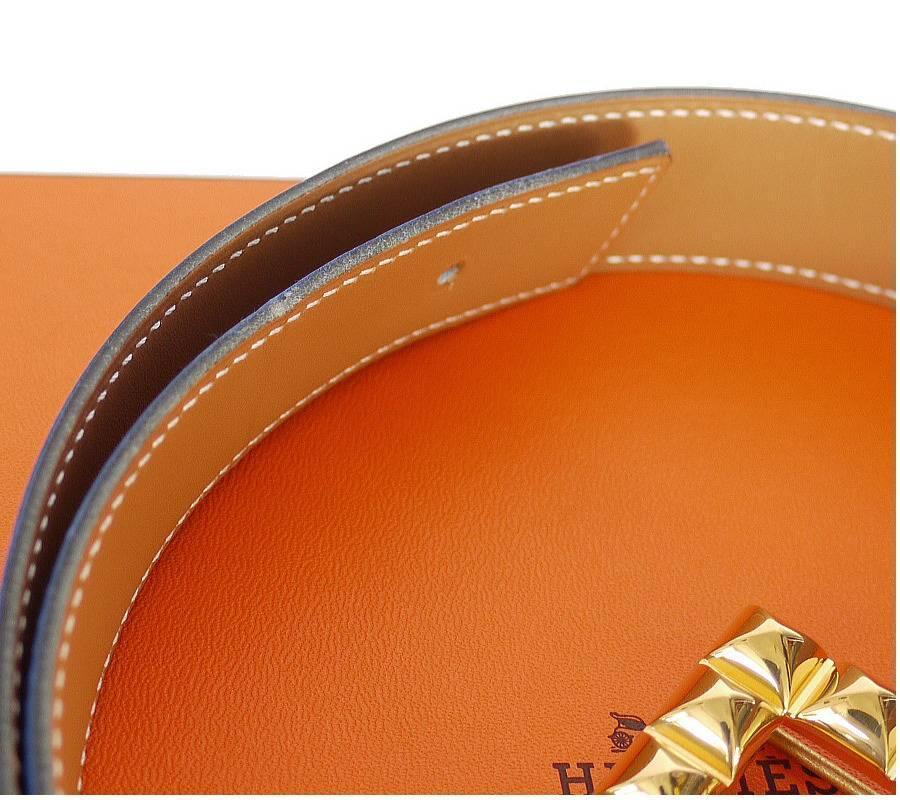 Hermes Reversible Medor Buckle Belt