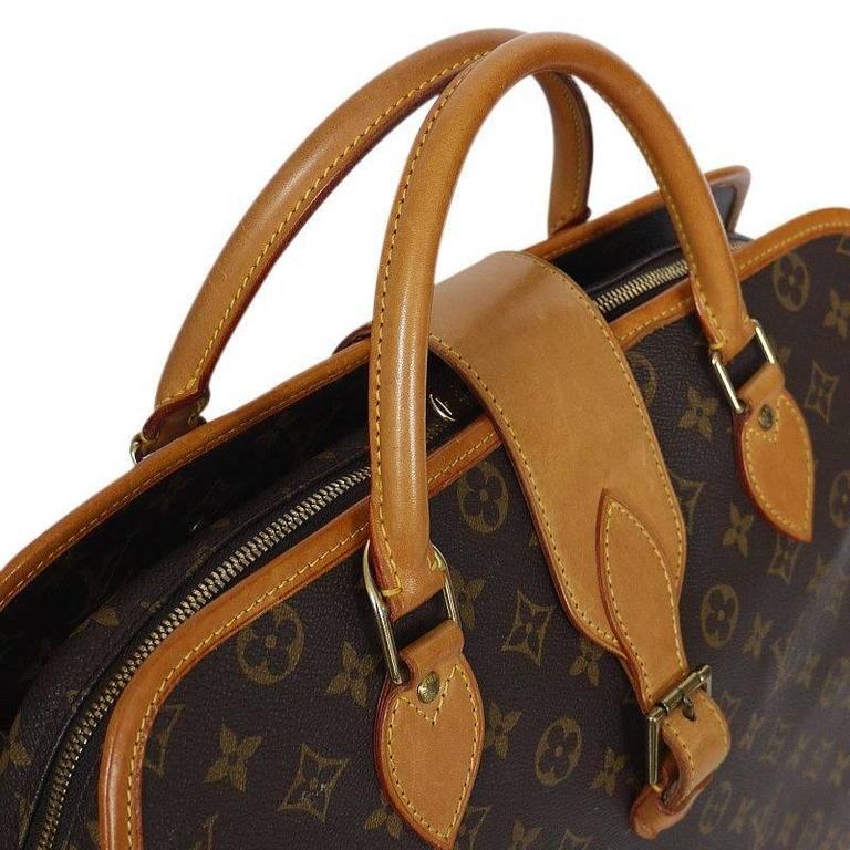 Louis Vuitton Monogram Rivoli Briefcase Business Bag In Excellent Condition In Hiroshima City, JP