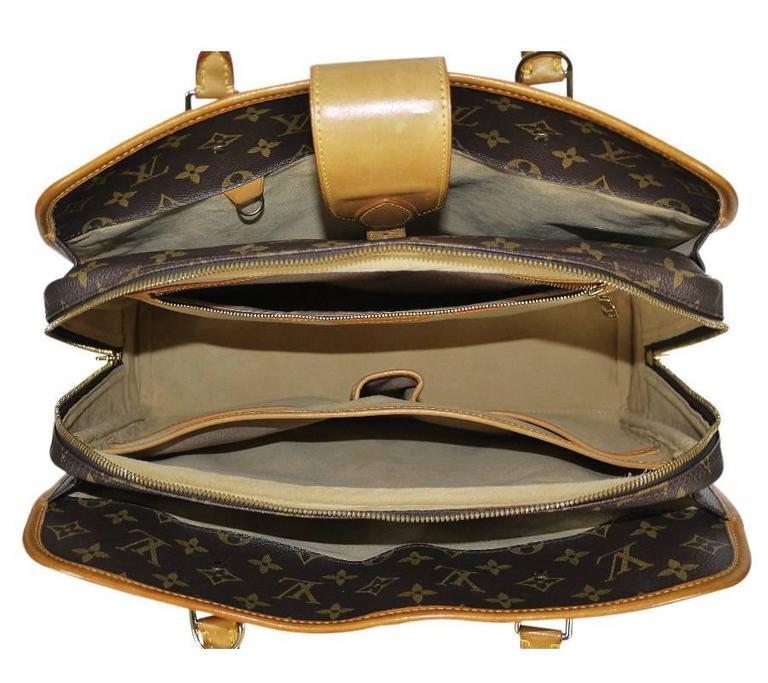 Louis Vuitton Monogram Rivoli Briefcase Business Bag 2