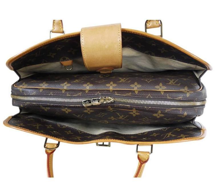 Louis Vuitton Monogram Rivoli Briefcase Business Bag 3