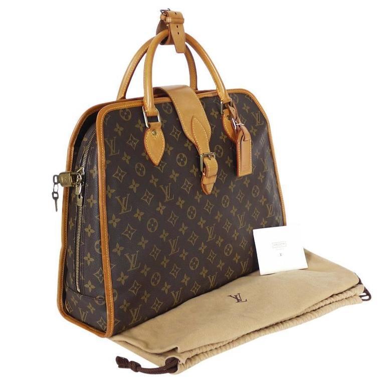 Louis Vuitton Monogram Rivoli Briefcase Business Bag 5