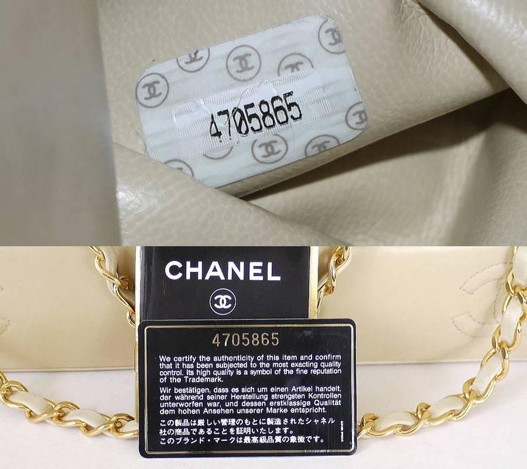 Vintage Chanel Lamb X Straw Bascket Chain Tote Bag 9
