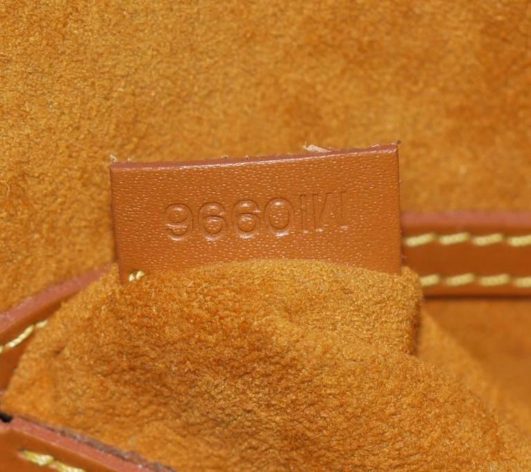 Louis Vuitton Epi Alma Handbag, Tote Zipangu Gold For Sale 5