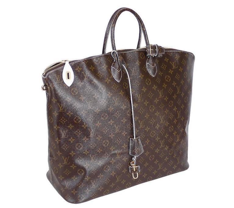 Louis Vuitton Shiny Monogram Fetish Lockit Voyage Travel Bag 3