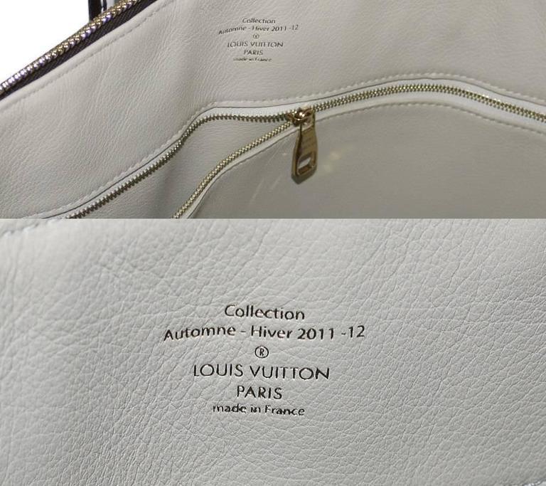 Louis Vuitton Shiny Monogram Fetish Lockit Voyage Travel Bag 7
