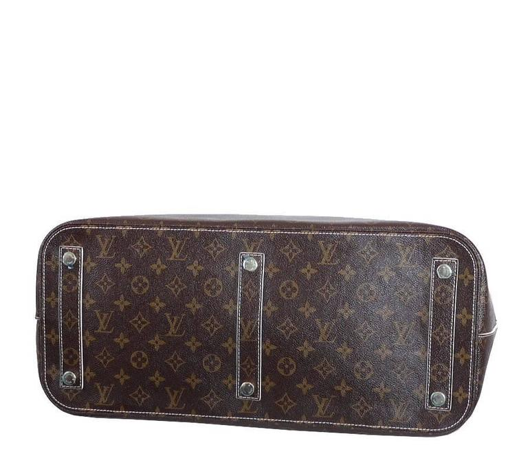 Louis Vuitton Shiny Monogram Fetish Lockit Voyage Travel Bag 6