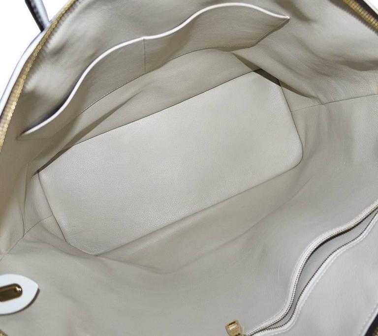Louis Vuitton Shiny Monogram Fetish Lockit Voyage Travel Bag 8