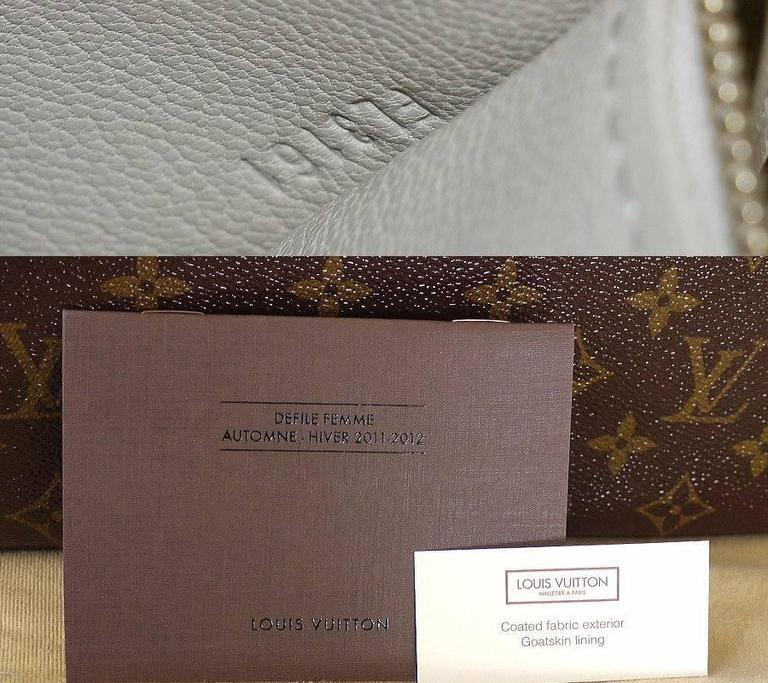 Louis Vuitton Shiny Monogram Fetish Lockit Voyage Travel Bag 9