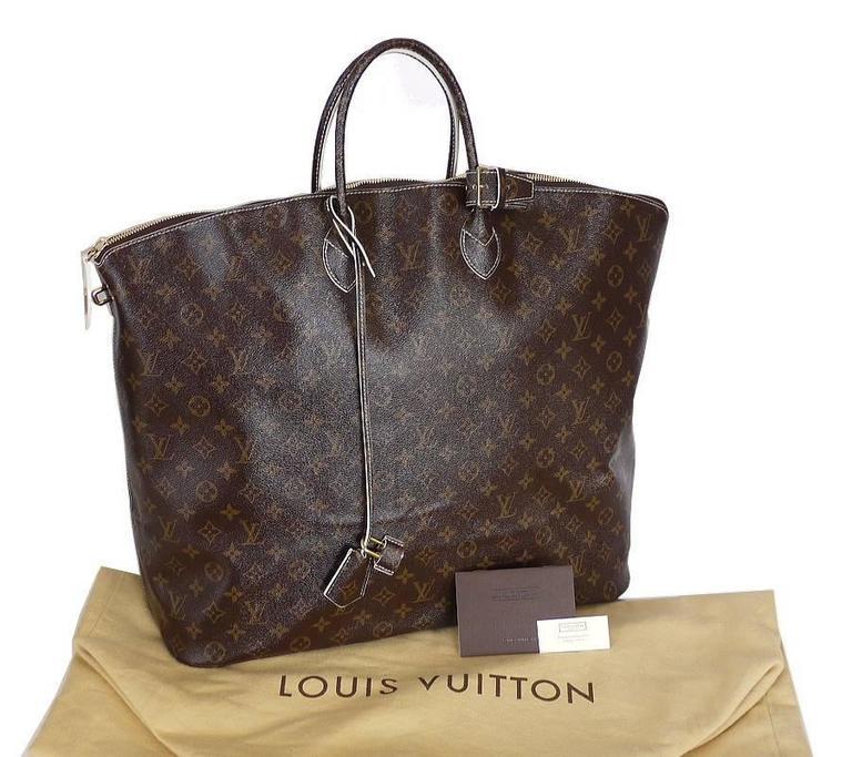 Louis Vuitton Shiny Monogram Fetish Lockit Voyage Travel Bag 10