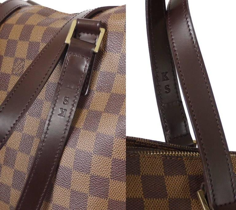 Women's Louis Vuitton Damier Cabas Mezzo Shopping Tote Bag Special Order For Sale