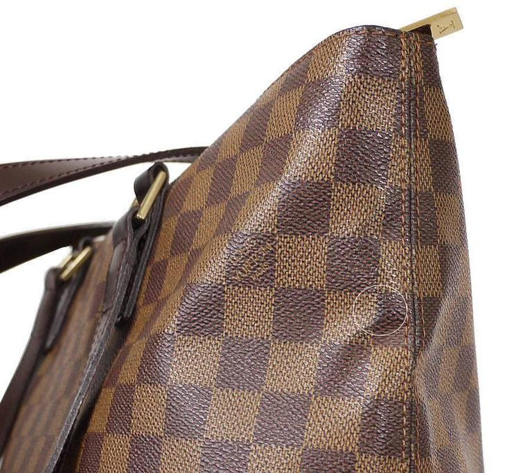 Louis Vuitton Damier Cabas Mezzo Shopping Tote Bag Special Order For Sale 1