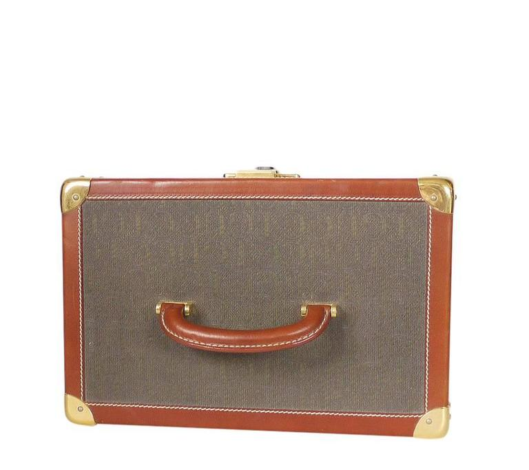 Vintage GUCCI Toiletry Case Travel Trunk Rare 4