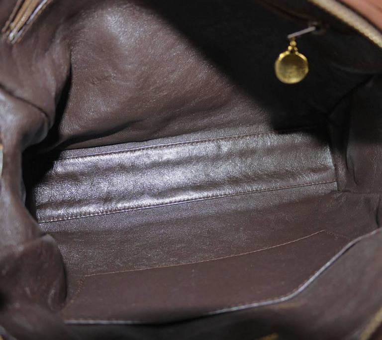 Vintage Chanel Cross Body Tassel Shoulder Bag For Sale 2