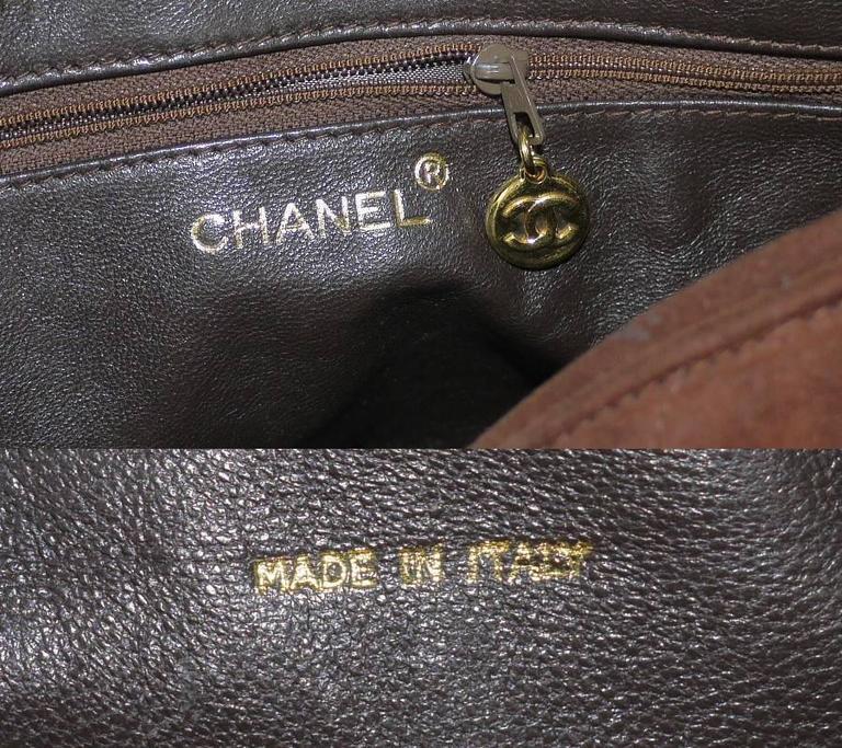 Vintage Chanel Cross Body Tassel Shoulder Bag For Sale 3