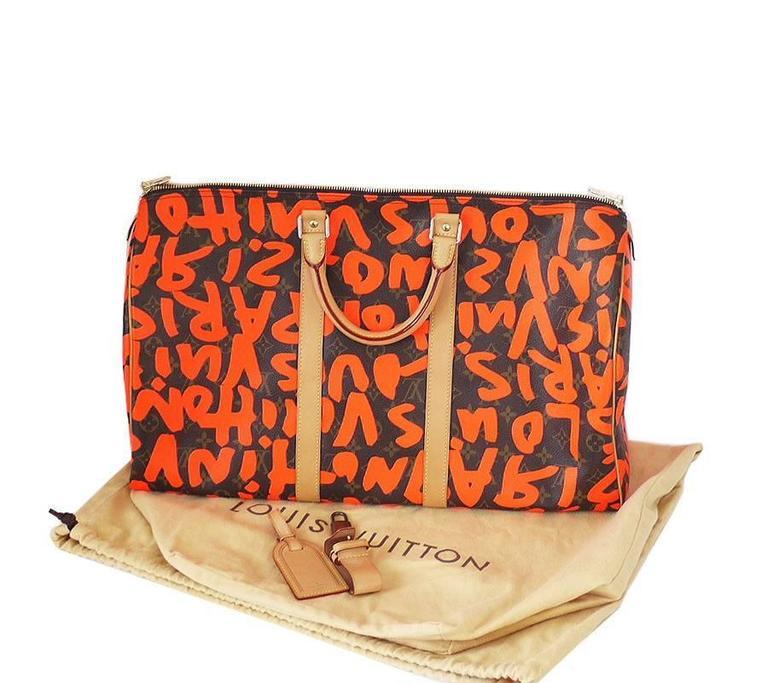 4e7f0ff0784 Louis Vuitton Graffiti Keepall Replica