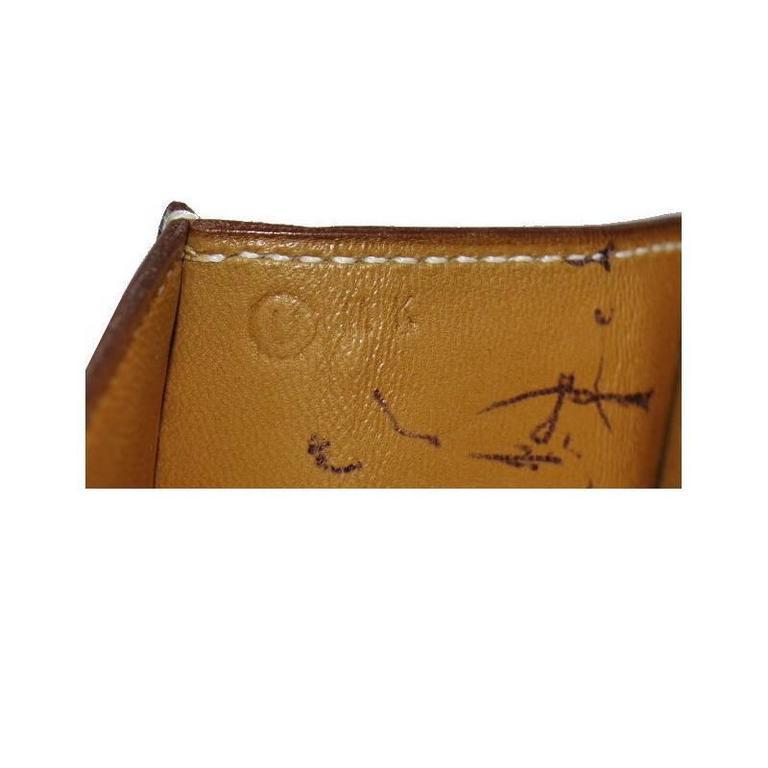 Hermes Couchevel Medor 2way Clutch Shoulder Bag Rare 8