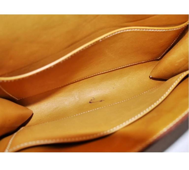 Hermes Couchevel Medor 2way Clutch Shoulder Bag Rare 7
