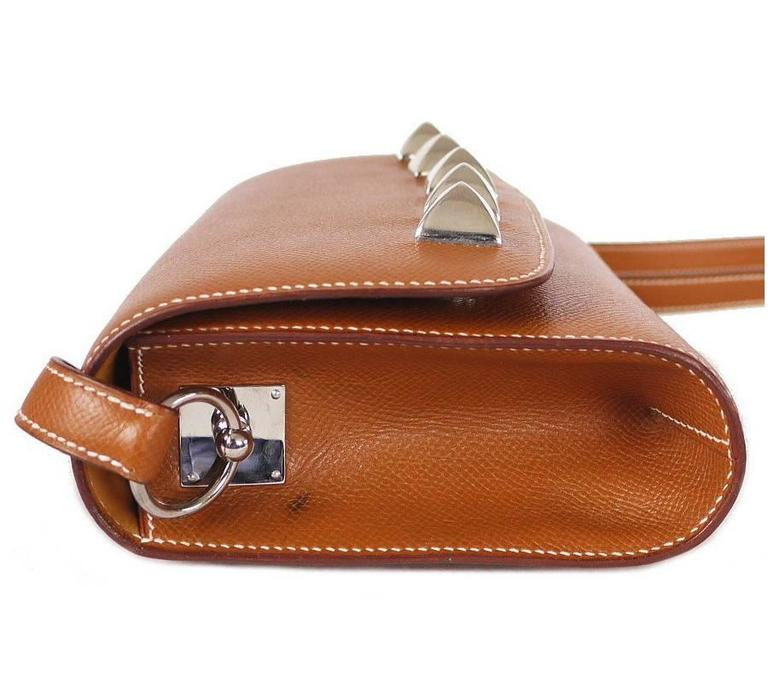 Hermes Couchevel Medor 2way Clutch Shoulder Bag Rare 3