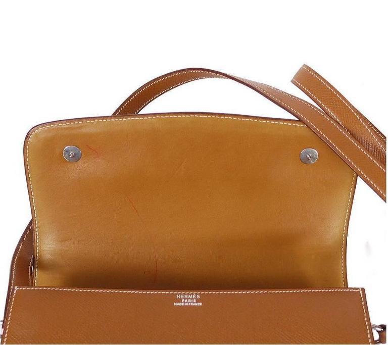 Hermes Couchevel Medor 2way Clutch Shoulder Bag Rare 5