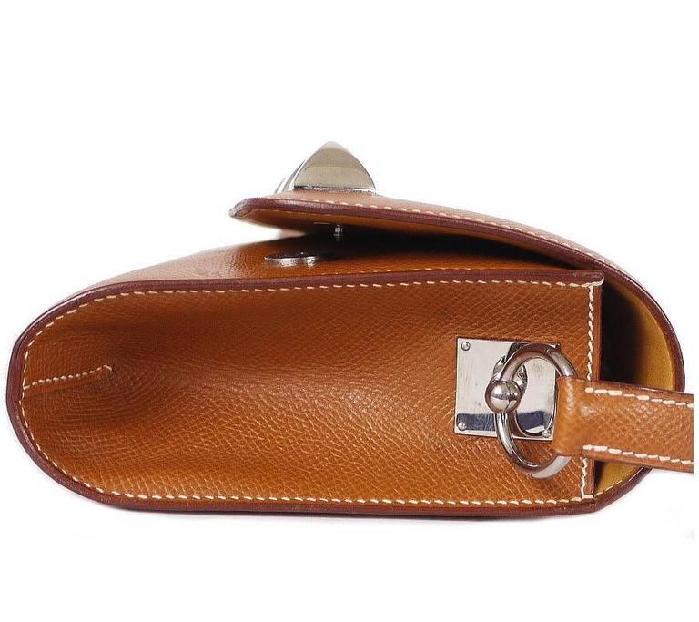 Hermes Couchevel Medor 2way Clutch Shoulder Bag Rare 4