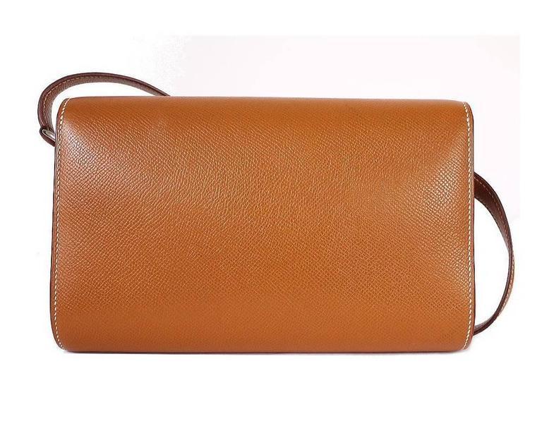Hermes Couchevel Medor 2way Clutch Shoulder Bag Rare 2