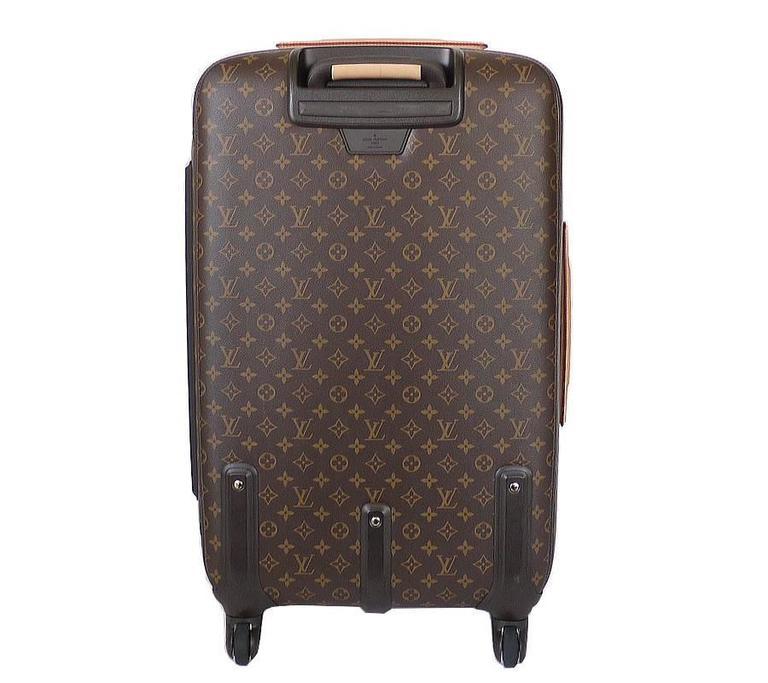 a223ef2d0c75 Black Louis Vuitton Monogram Zephyr 70 trolley case Suitcase
