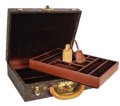 Louis Vuitton Monogram Jewellery Case Trunk M47120