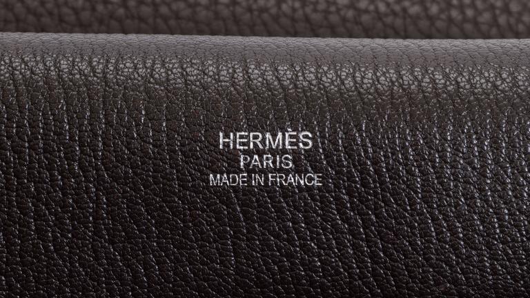 Hermès Jypsiere Brown Togo Bag For Sale 1