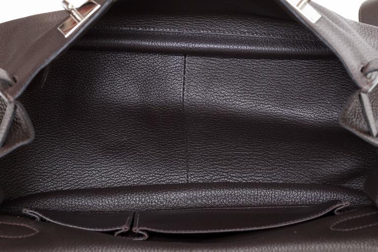 Hermès Jypsiere Brown Togo Bag For Sale 2
