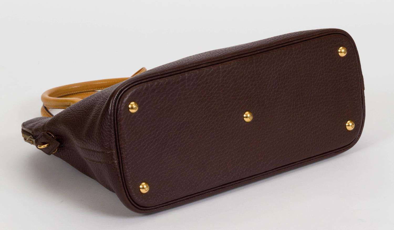Herms Brown Naturel 35cm Bolide Togo Leather Bag For Sale