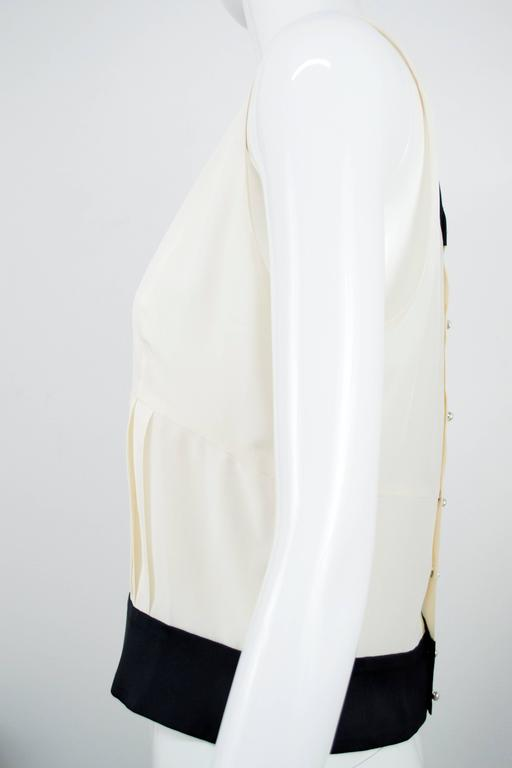 Chanel 2006 Silk Sleeveless Blouse Top 40 3