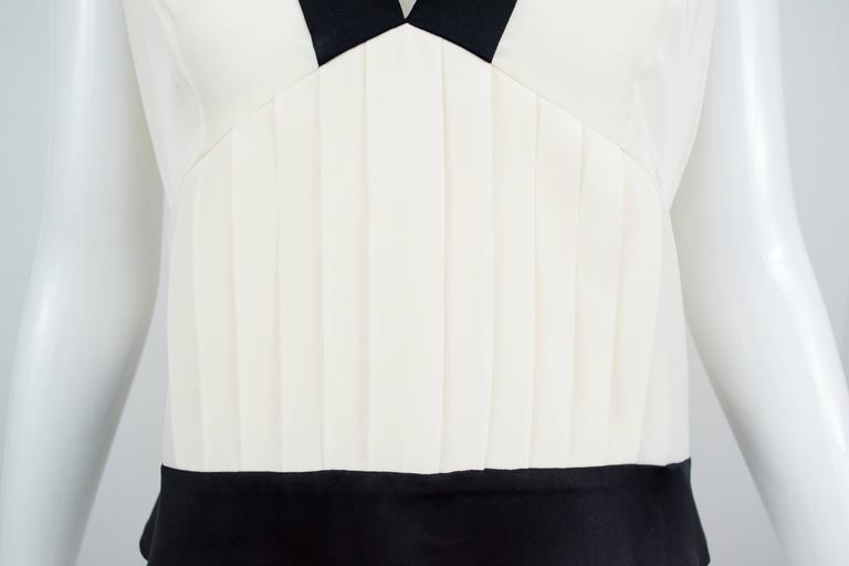 Chanel 2006 Silk Sleeveless Blouse Top 40 5