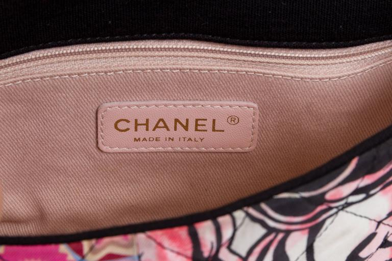 Chanel Patchwork Crossbody Black Flap For Sale 1