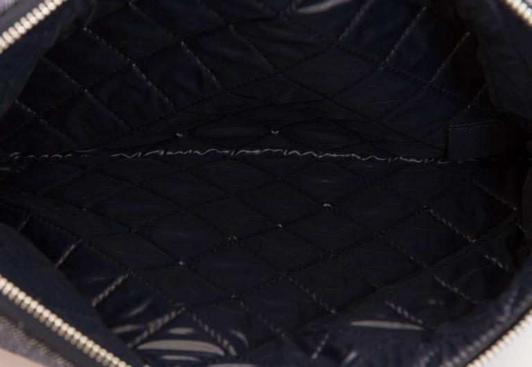 Chanel Medium Denim Zipped Clutch 5