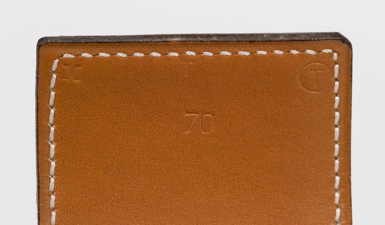Hermès Collier De Chien 70cm Gold Belt For Sale 1