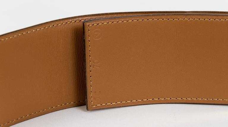 Hermès Collier de Chien Rouge H 70cm Belt 4