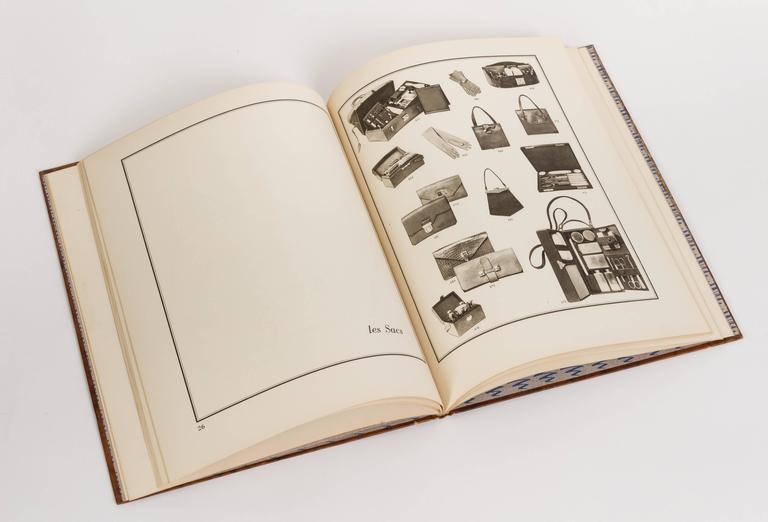 Rare Hermès c.1928, 100 Years Anniversary Book In Good Condition For Sale In Los Angeles, CA