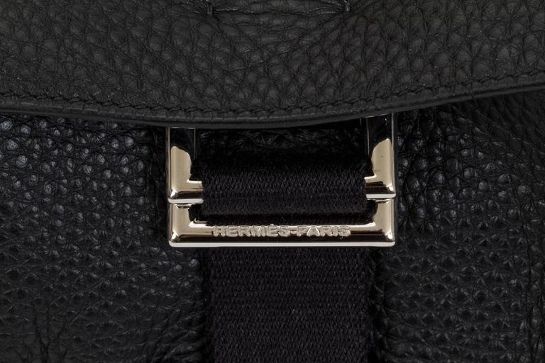 Hermès Black Clemence Men's Shoulder Bag 5