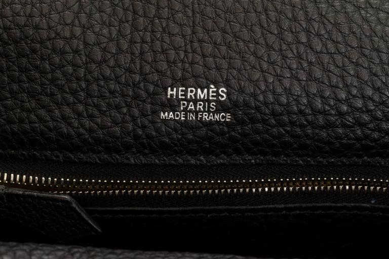 Hermès Black Clemence Men's Shoulder Bag 6