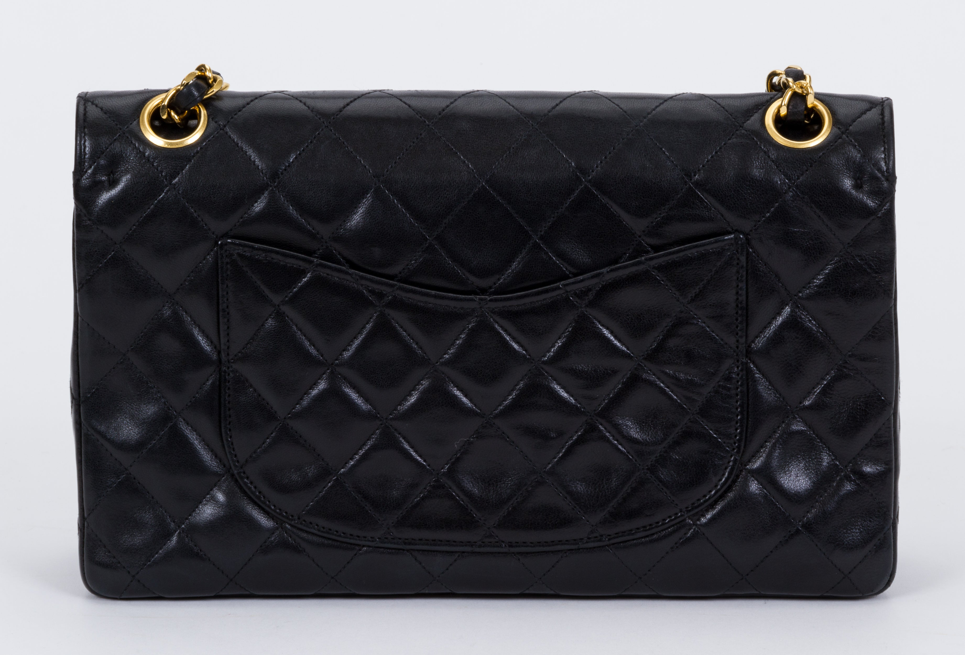 6e766385ec4a Chanel Double Flap Classic Black 10