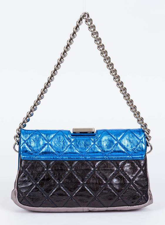 Chanel Metallic 4 Colors Limited Edition Flap Bag 3
