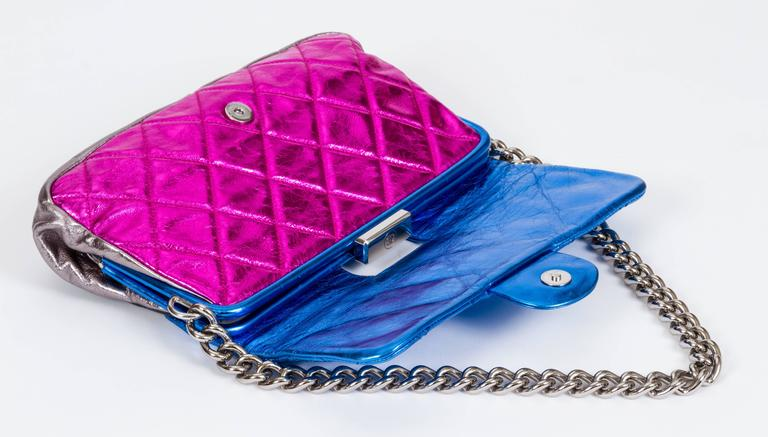 Chanel Metallic 4 Colors Limited Edition Flap Bag 5