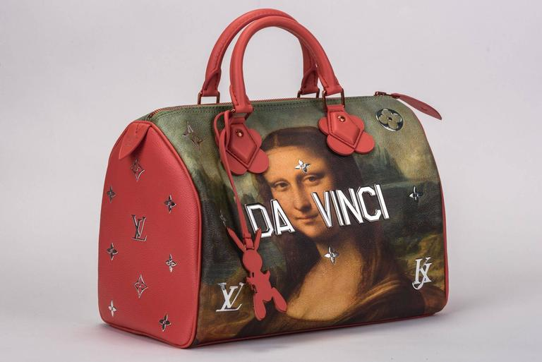 This bag is part of the much sought after Jeff Koons