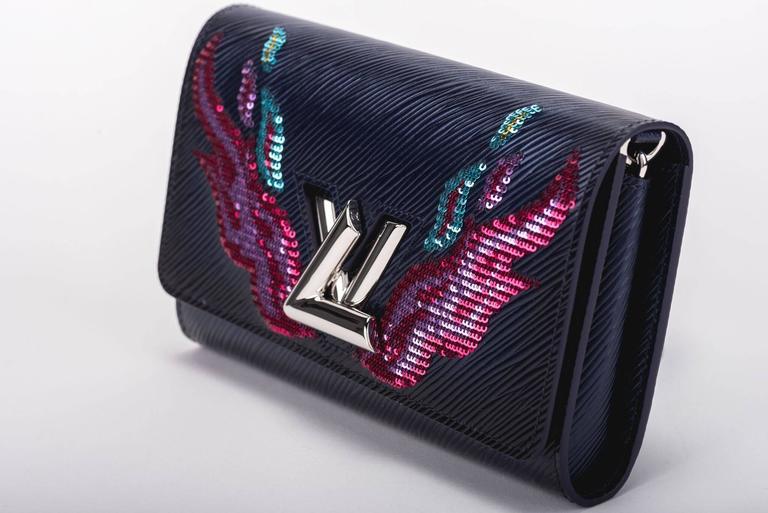 Louis Vuitton Limited Edition Twist Wallet With Flames Bnib lUmf2J
