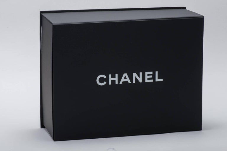 Black New in Box Chanel Matte Caviar Jumbo Boy Bag For Sale