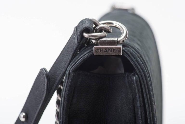 New in Box Chanel Matte Caviar Jumbo Boy Bag 7