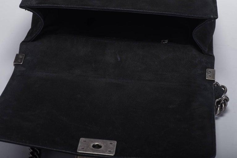 New in Box Chanel Matte Caviar Jumbo Boy Bag 10